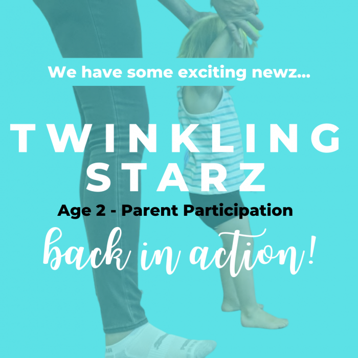 Parent Participation classes are now available!